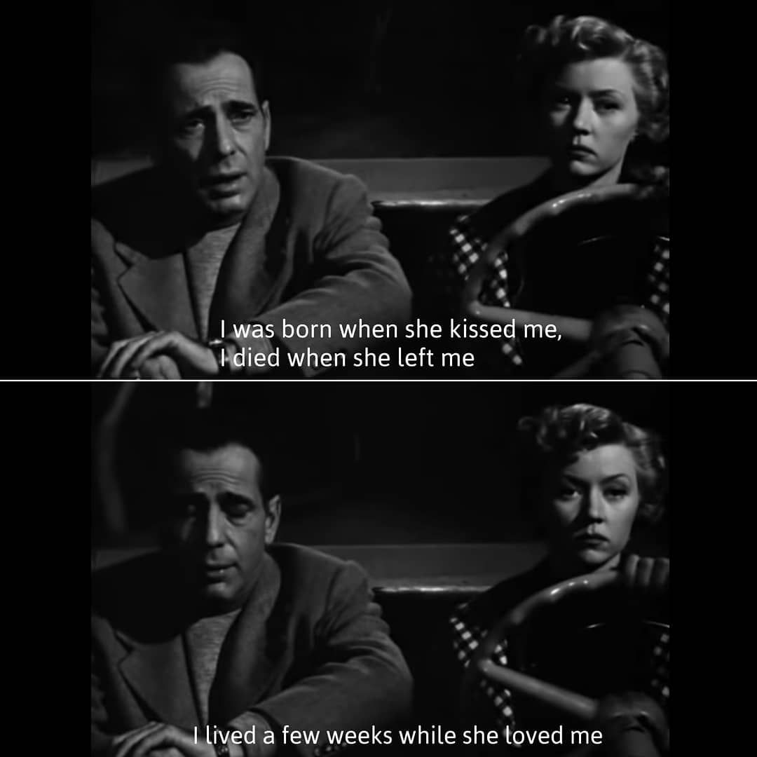 In A Lonely Place 1950 Cast With Images Movie Quotes Gloria