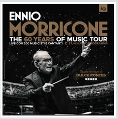 2017 - ENNIO MORRICONE, July 7 Rome; Aug. 30 Verona; tickets are available in Vicenza at Media World, Palladio Shopping Center, or online at www.ticketone.it, www.vivaticket.it, and www.geticket.it.