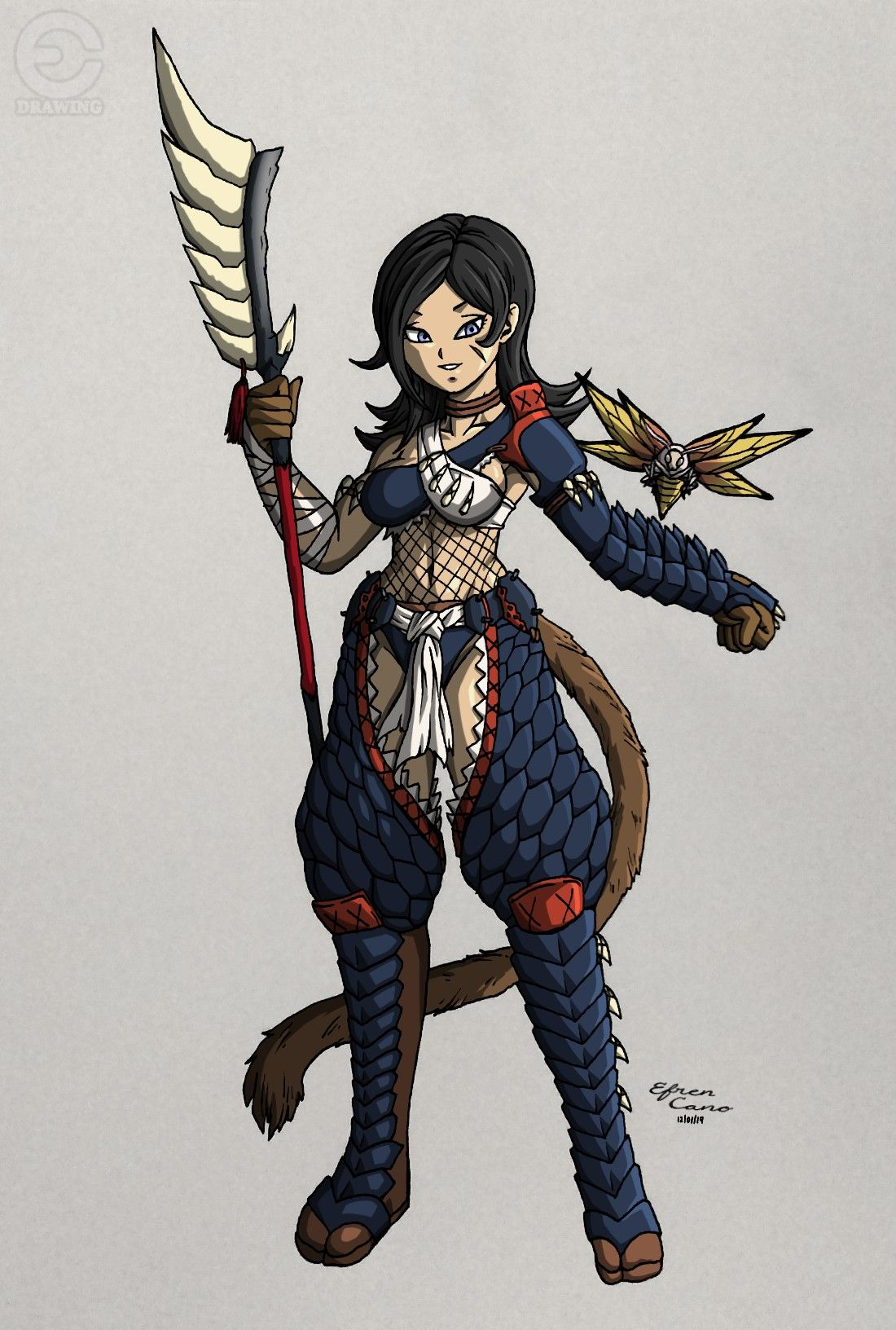 Glaive Hunter Celosia (Monster Hunter Crossover) [1/2