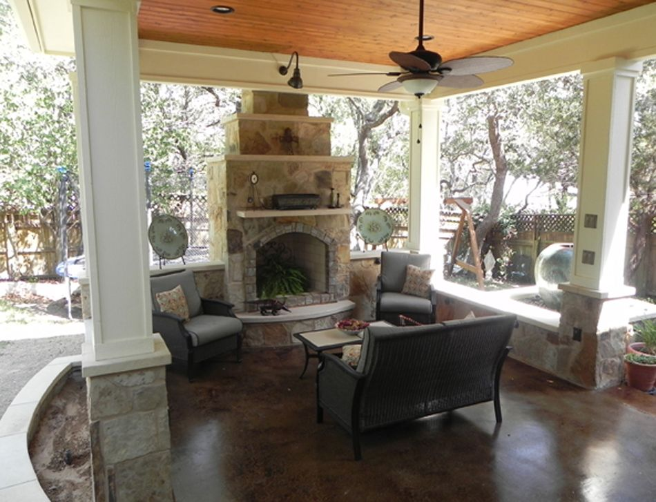 Image Cdetail For Covered Patios Austin Decks Pergolas Covered Patios Porches Backyard Living Outdoor Living Space Patio