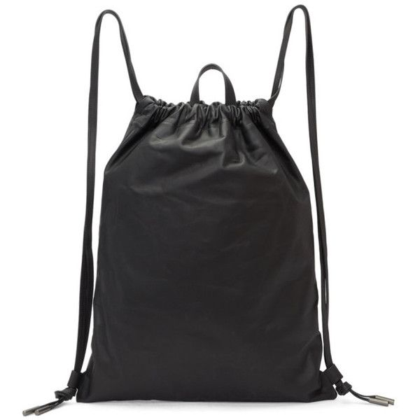 Pb 0110 Leather Drawstring Backpack