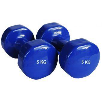 Compra Pesas Mancuernas Plastificadas de 5kg - Azul online ✓ Encuentra los  mejores productos Mancuernas SPORT FITNESS en Linio Perú ✓ 311b0050e9c2