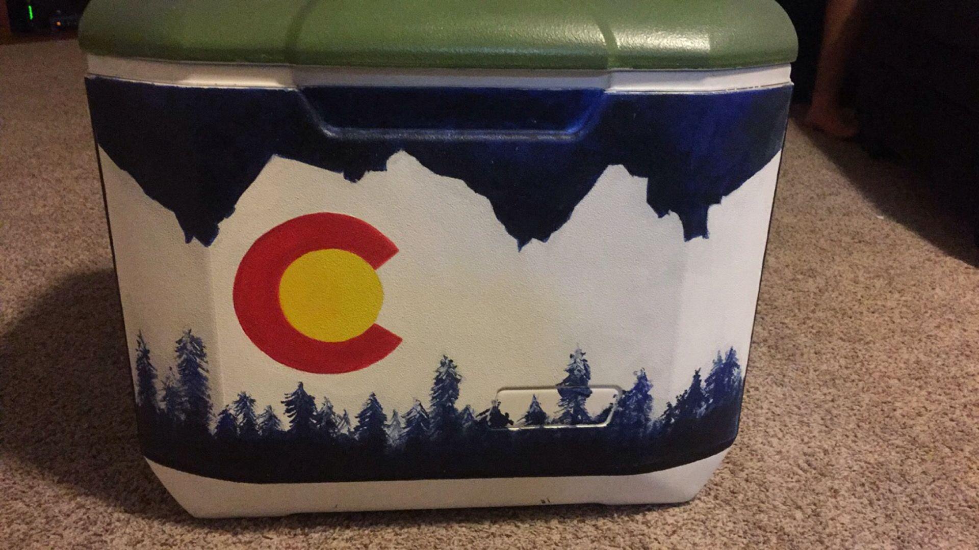 Cooler for boyfriend, Colorado