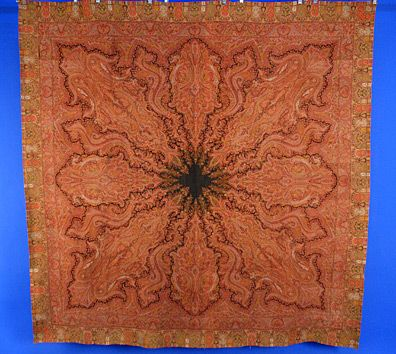 Wool Paisley Shawl, 19th C.<br /> Session 1 - Lot 289