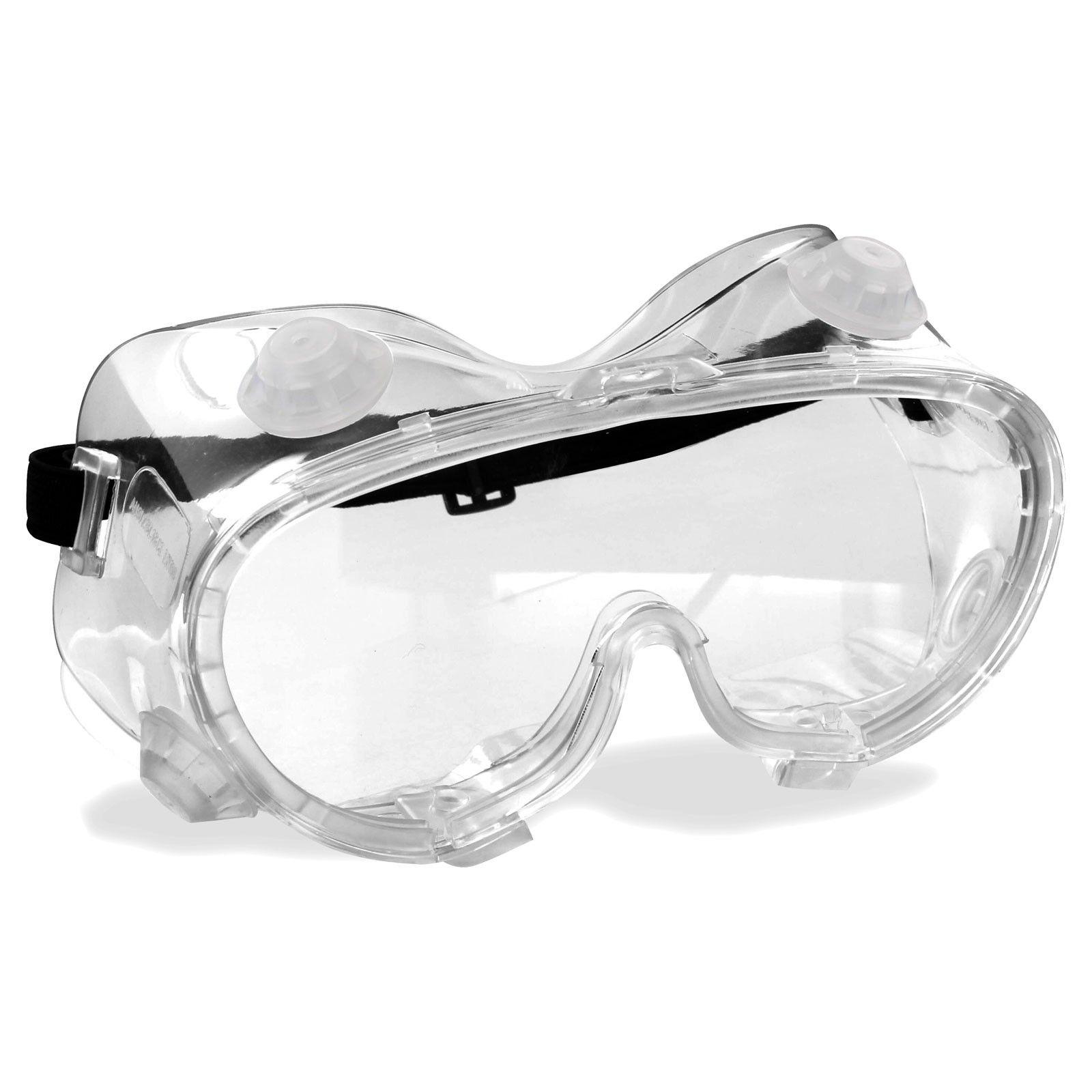 Rugged Blue Economy Safety Goggles Eyewear, Eye
