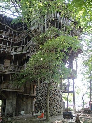 The Minister's Treehouse - Crossville, TN - AMAZING place  A must