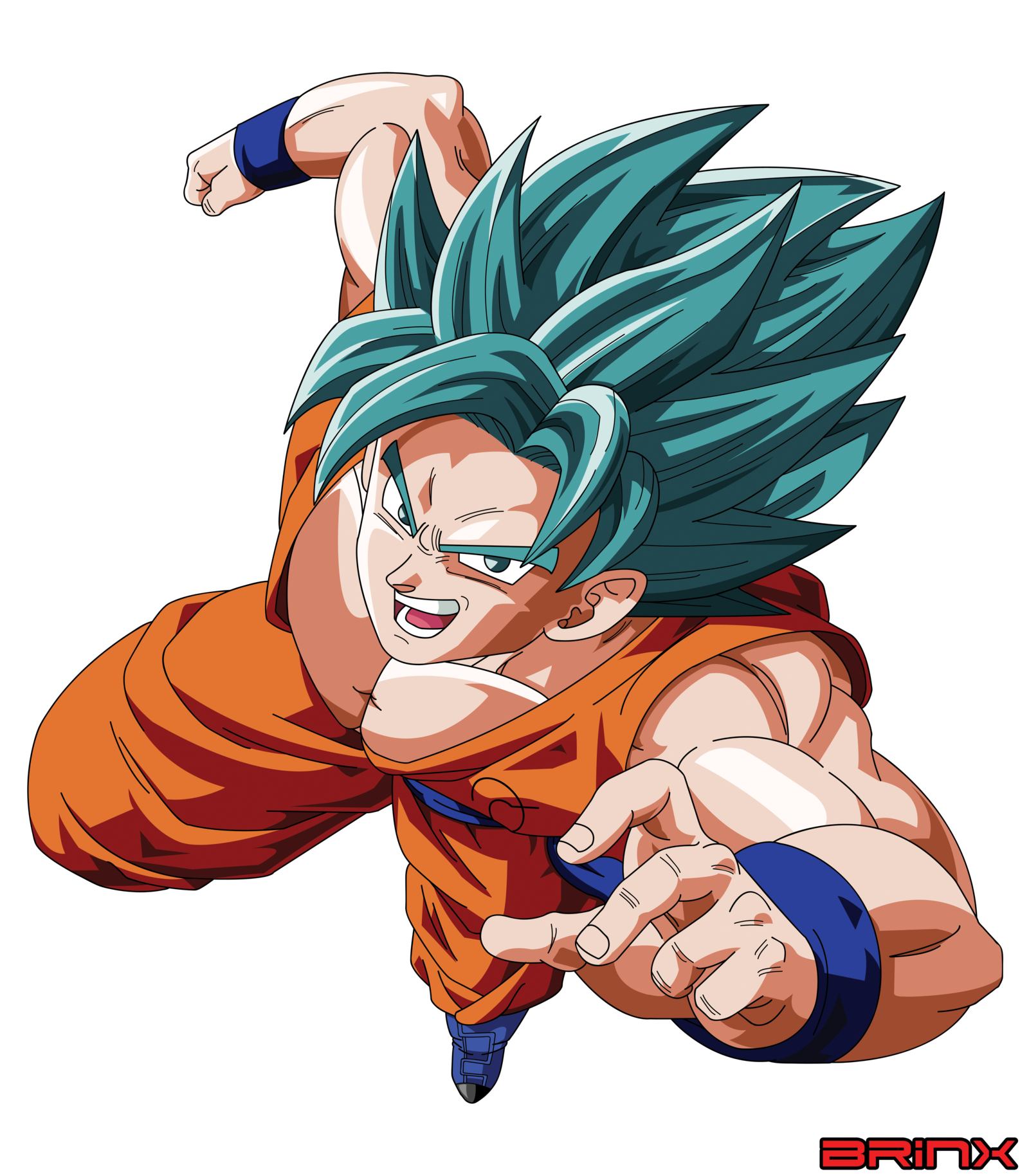 Ssgssj Goku Vector Goku Dragon Dall Z Dragon Ball Super Goku