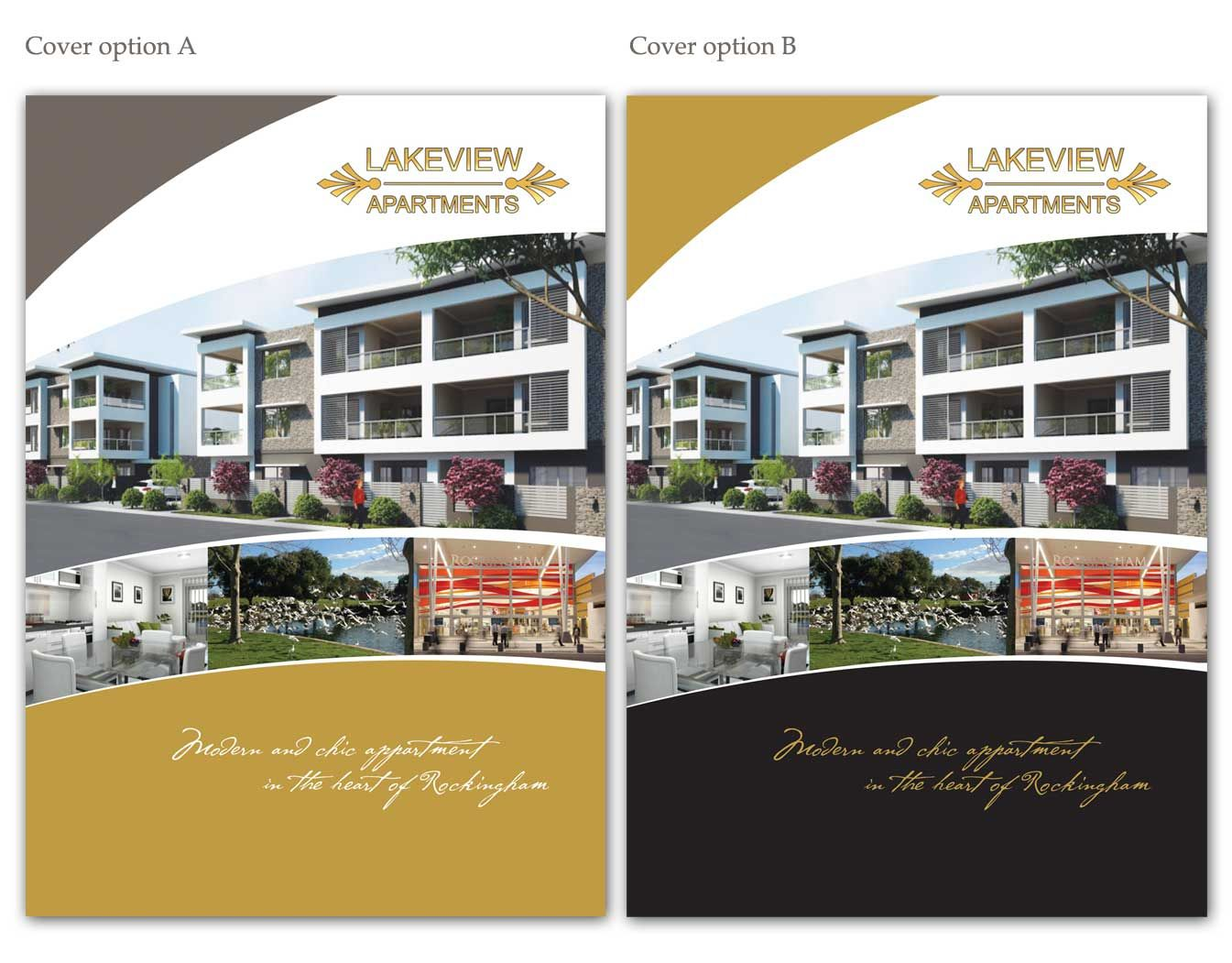 brochure design by san011 for apartment brochure for westralia