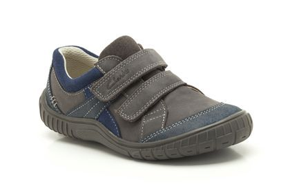 Grey Combi Leather from Clarks shoes