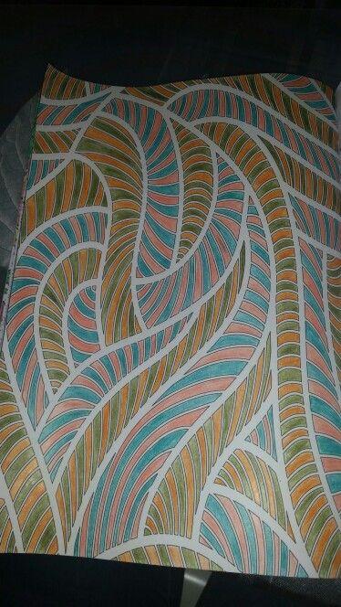 Kleurplaat patroon, kleurboek Action
