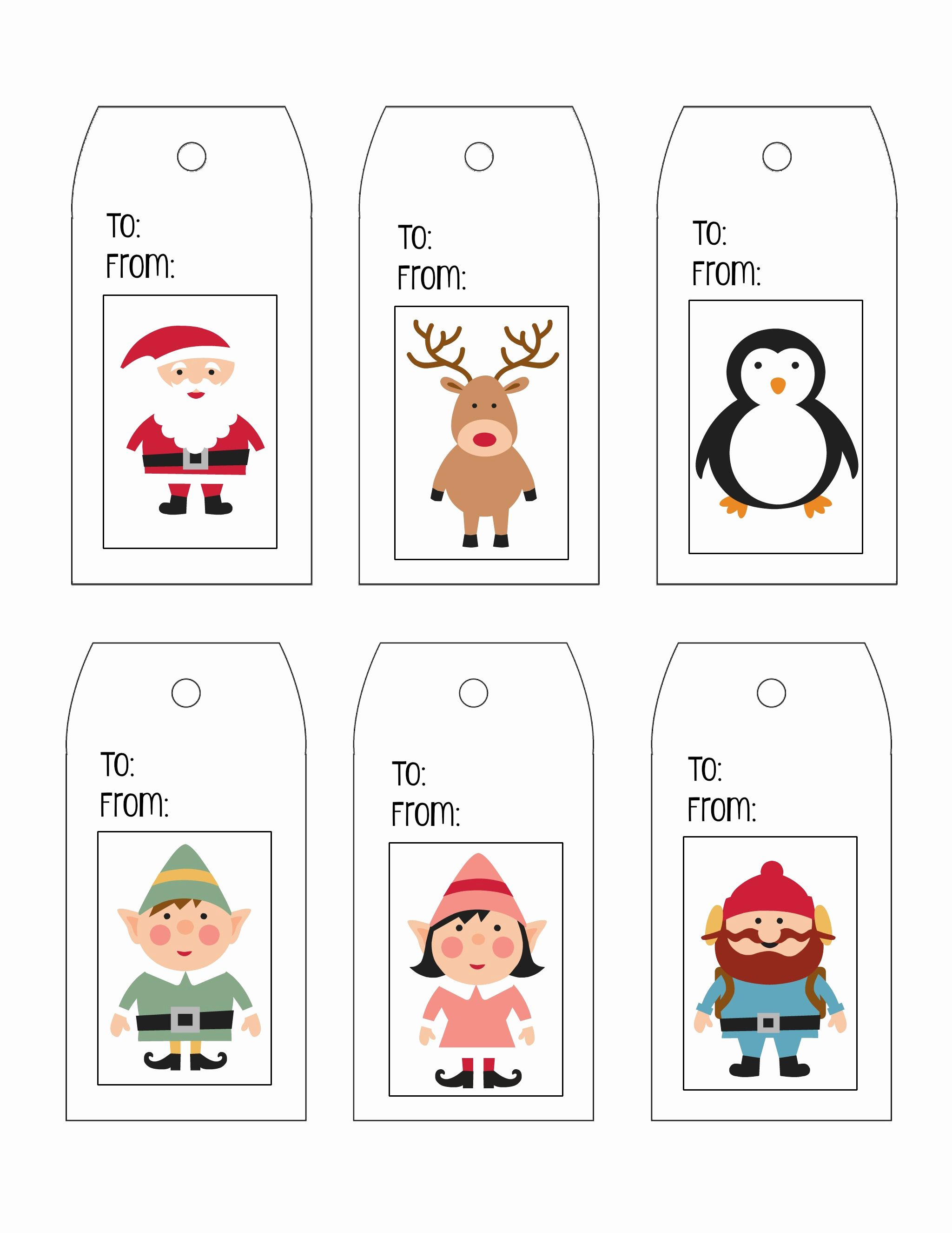 Christmas Labels Free Printable Templates Con Imagenes