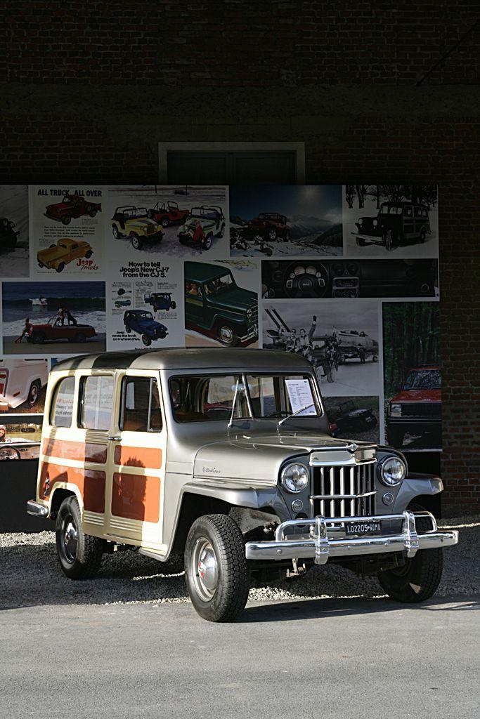 1946 Jeep Station Wagon 1941 To 1950 Carz Pinterest Station