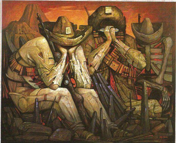 Canci n de esperanza jorge gonzalez camarena muralismo for Muralisme mexicain