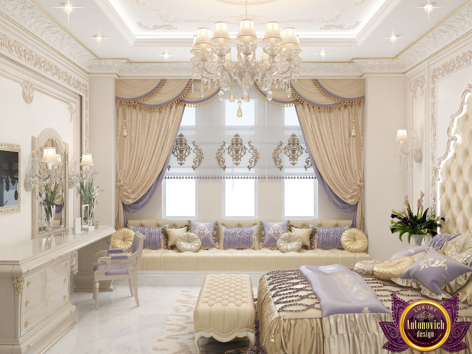 Best Bedroom Design In Dubai Luxury Bedroom Photo 2 400 x 300
