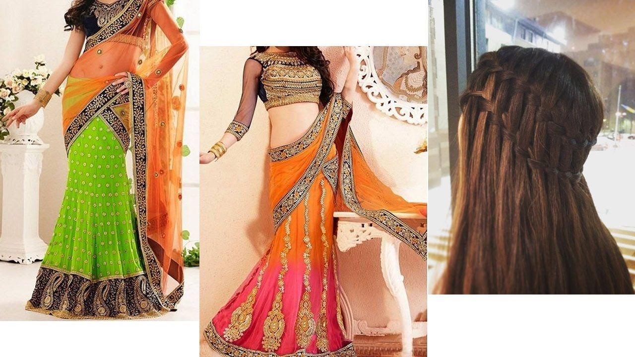 Saree Sareedraping Makeup Hairstyles Sareedrapingtutorial