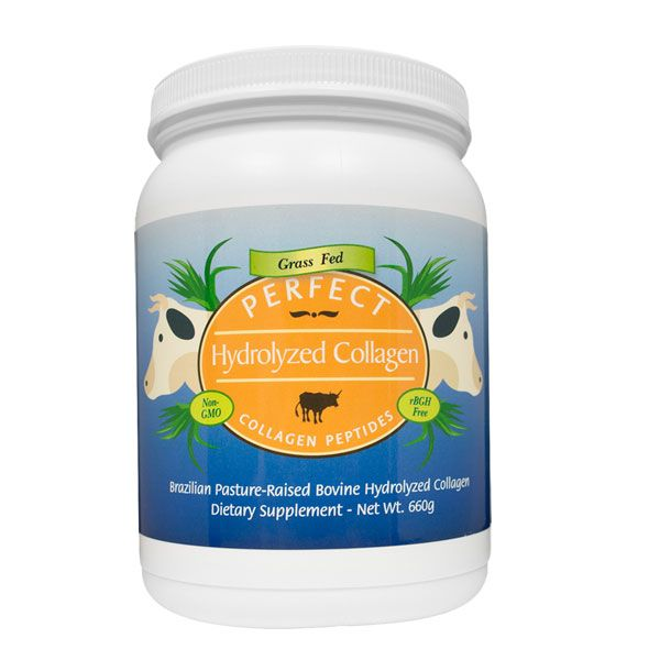 Perfect Collagen- 100% HYDROLYZED COLLAGEN SOURCED EXCLUSIVELY FROM BRAZILIAN PASTURE RAISED (GRASS FED) COWS
