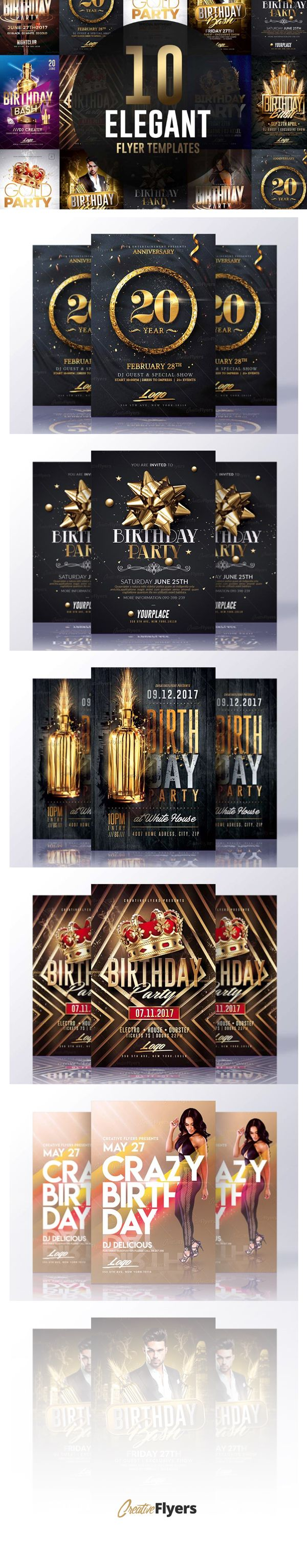 Check Out 10 Elegant Flyer Templates Flyer Template Psd Templates