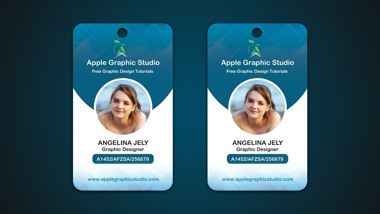 Pin de Apple Graphic Studio en ID Card | Pinterest