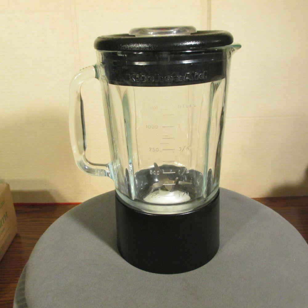 Kitchenaid Blender Replacement Glass Jar Black Ksb5ob4