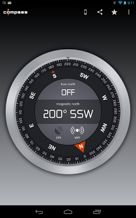 Compass Android App This compass is free (contains ads
