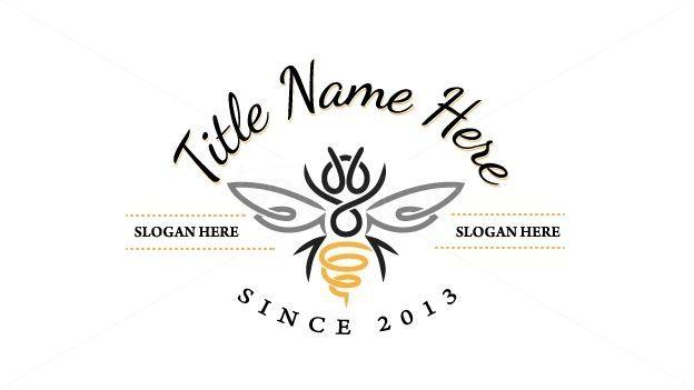 Vintage Bee Logo Google Search Marketing Logos Logo Design