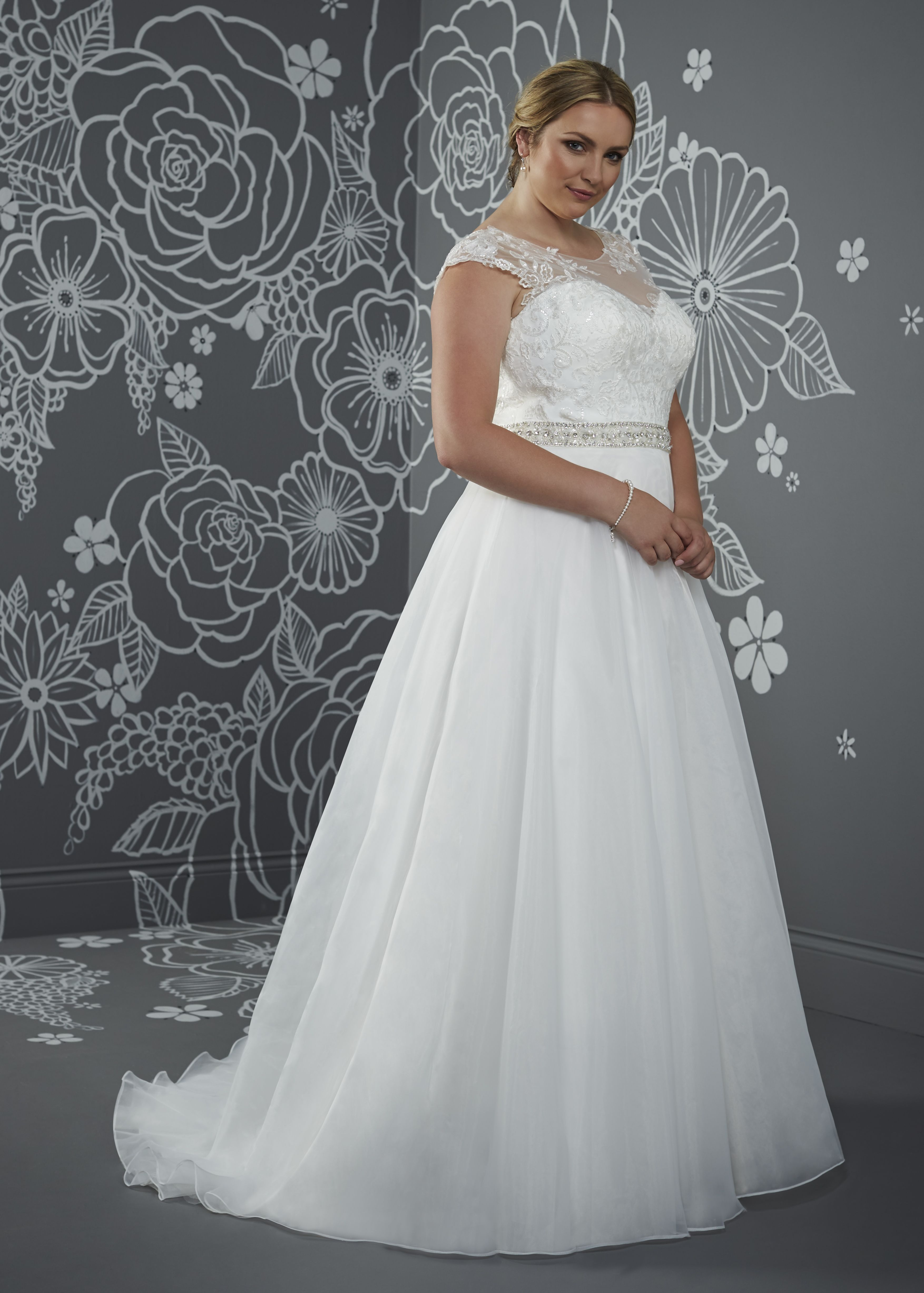 'Snowdrop' from our Silhouette 2017 Bridal Collection
