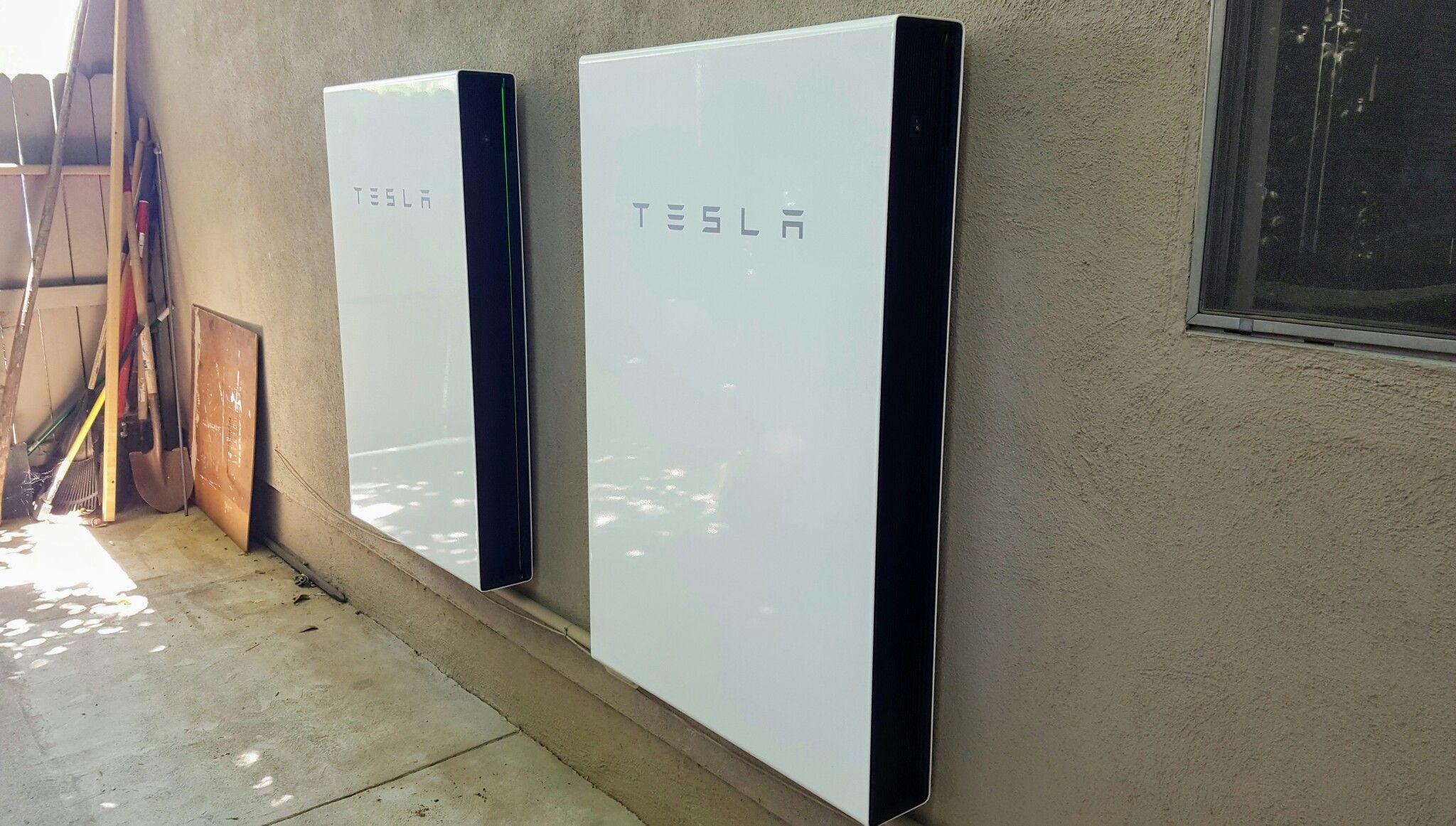Tesla Powerwall 2 Battery Storage Solar Energy Diy Plants In Australia Power Plant