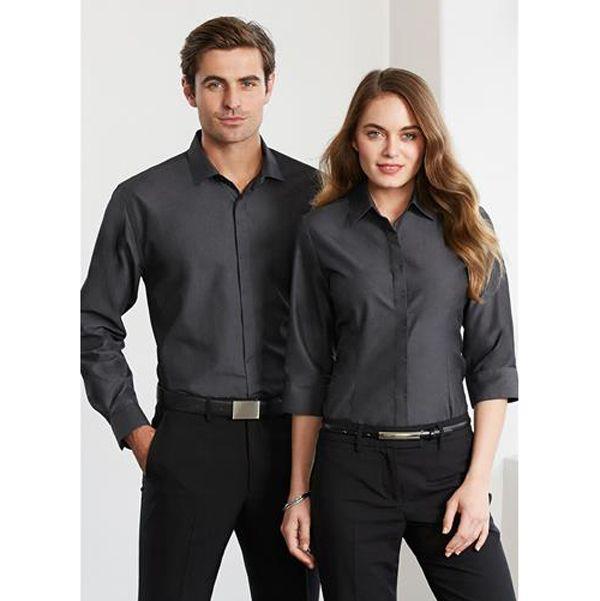 Ladies Hemingway 3 4 Sleeve Shirt S504lt Work Smart Uniforms Australia Buy Online Uniform Shirts Corporate Uniforms Company Uniform
