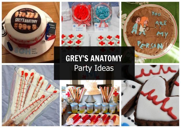Sav On Bags >> Grey's Anatomy Party Ideas   Greys anatomy