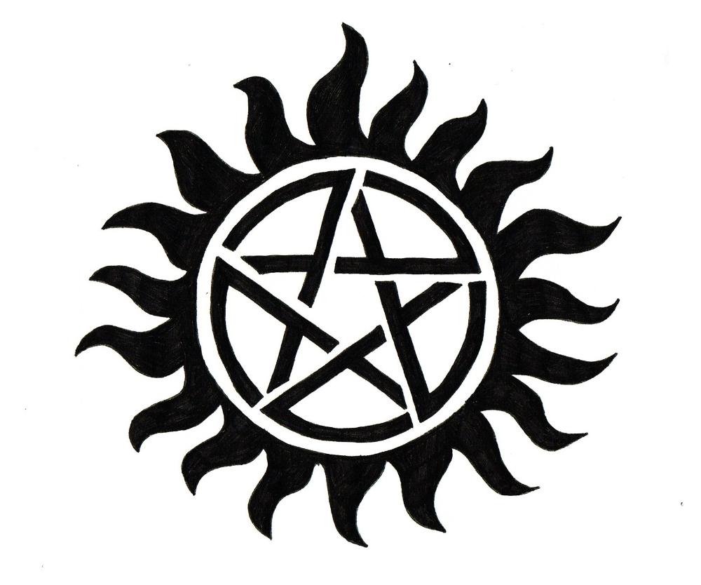 Meaning Supernatural Logo And Symbol Supernatural Tattoo Supernatural Symbols Protection Tattoo Symbols