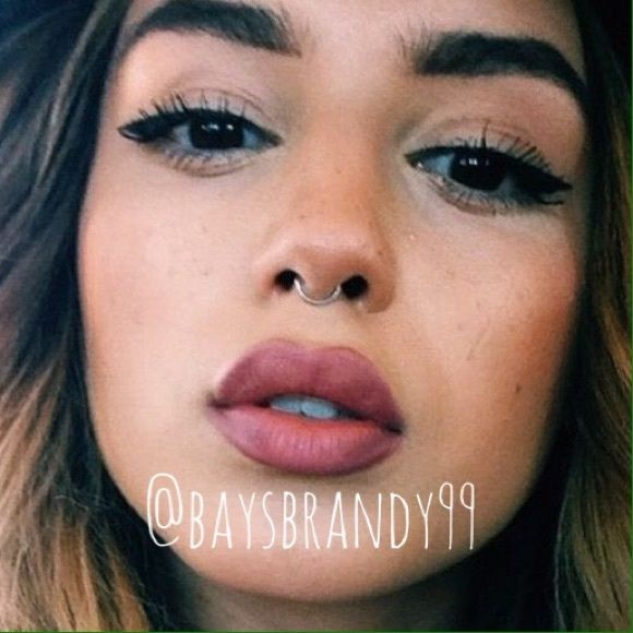 Reserved bundle septum brandy melville and piercings reserved bundle super cute and trendy nose ring without the piercing easy to use and ccuart Images