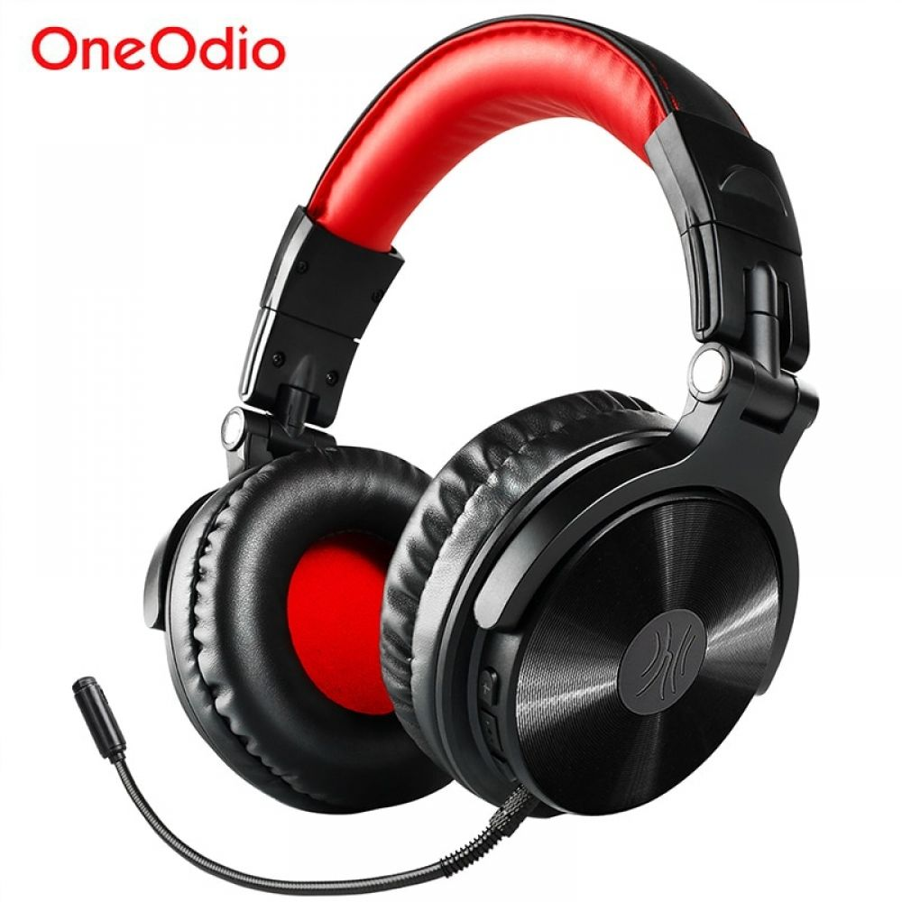 Oneodio Wireless Bluetooth Headphone With Extended Mic The Gadget Hawk Headset Headphone With Mic Bluetooth Headphones Wireless