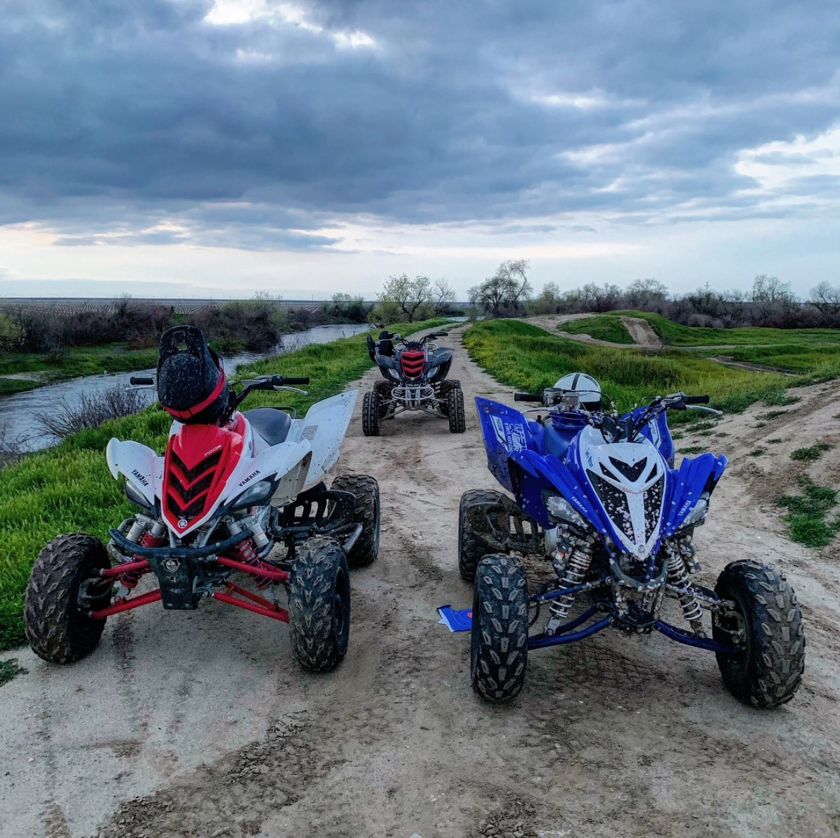 What S Better Than One Raptor Three 4 Stroke Riderz