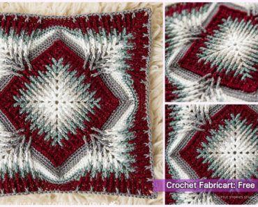 Crochet Elements Cal Blanket Free Pattern #crochetelements