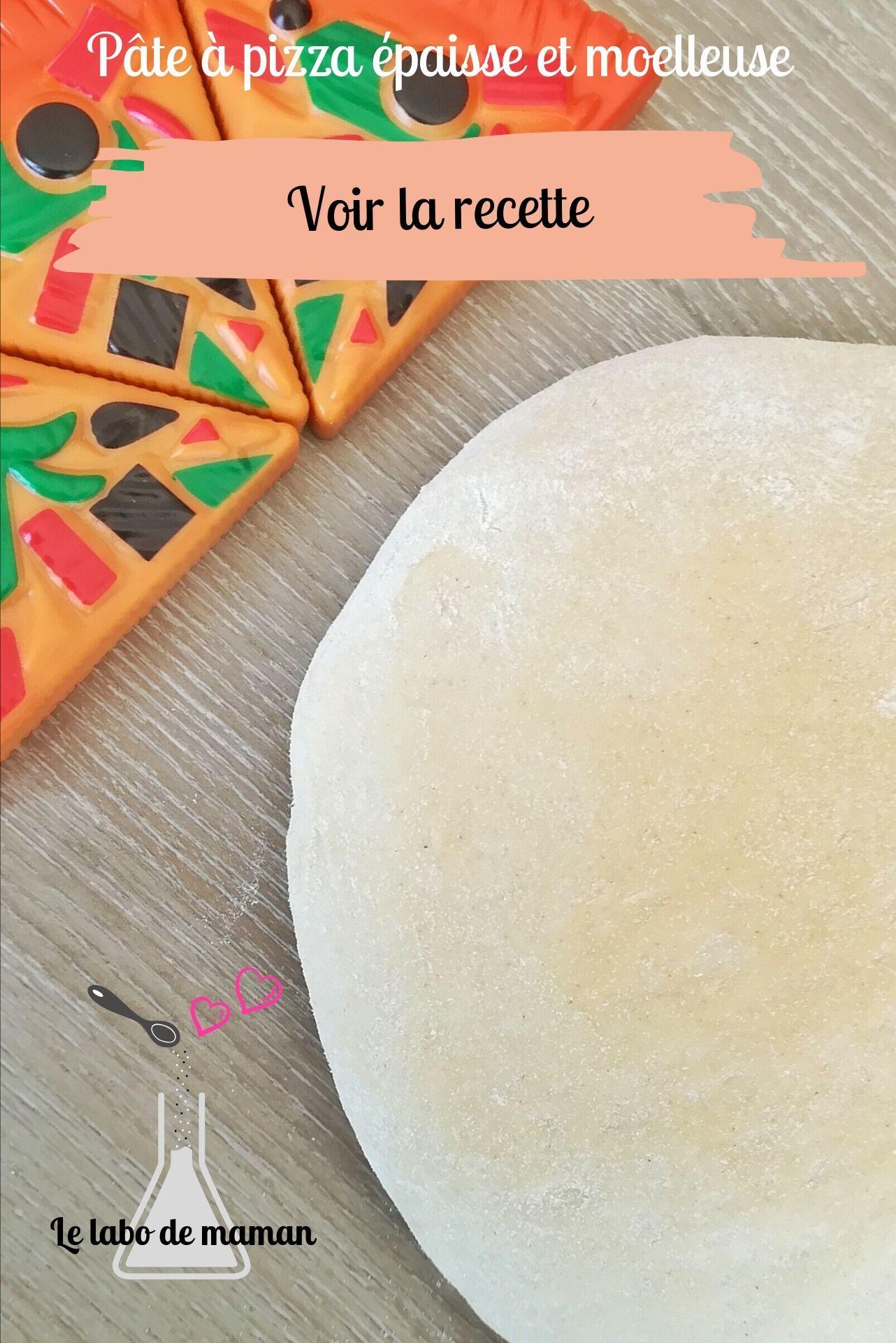 Pâte à pizza ultra épaisse et moelleuse #pateapizzafacile