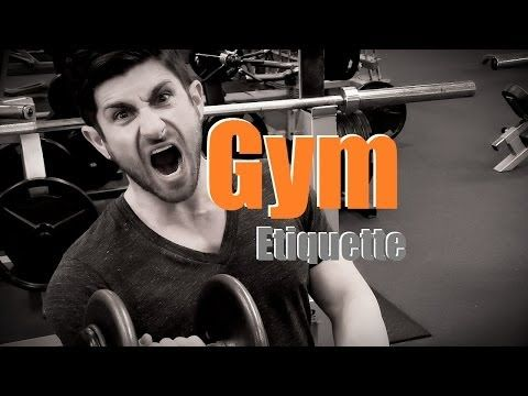 This Video Is a Primer to Gym Etiquette.