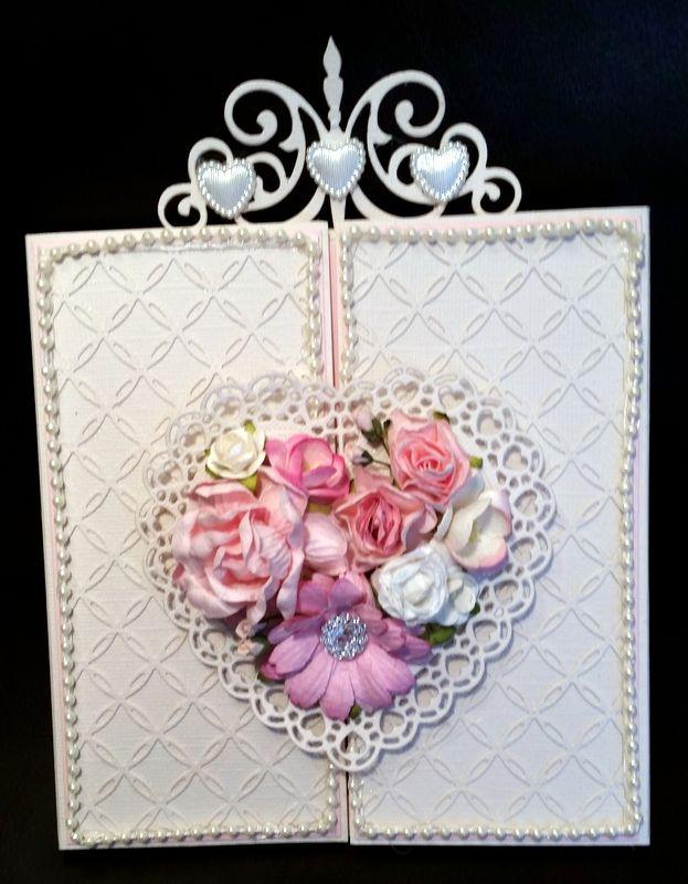 Belindas kreative kaos: Bryllupskort.