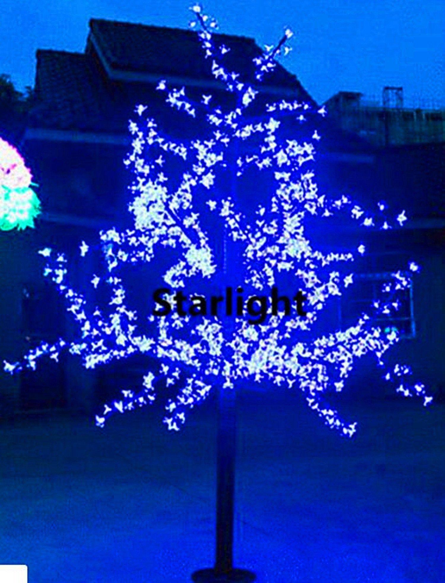 864pcs Leds Outdoor 6 5ft 2m Led Cherry Blossom Tree Light Etsy In 2021 Blossom Trees Cherry Blossom Tree Artificial Cherry Blossom Tree