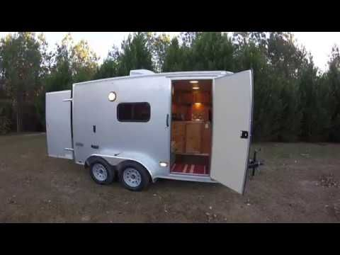 Everyday Cargo Trailer Converted To A Badass Camper Save