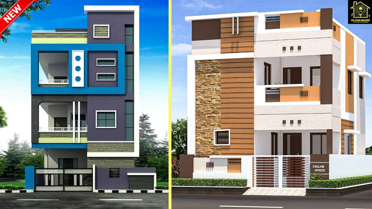2 Floor Elevation Design Ideas 2020 Double Floor