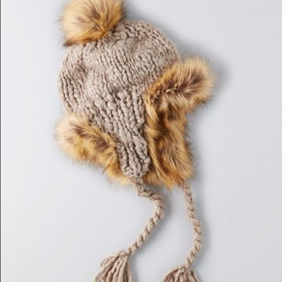 afd519d54fe4d American Eagle Ear Flap Hat Warm fuzzy hat from American Eagle. Brand new
