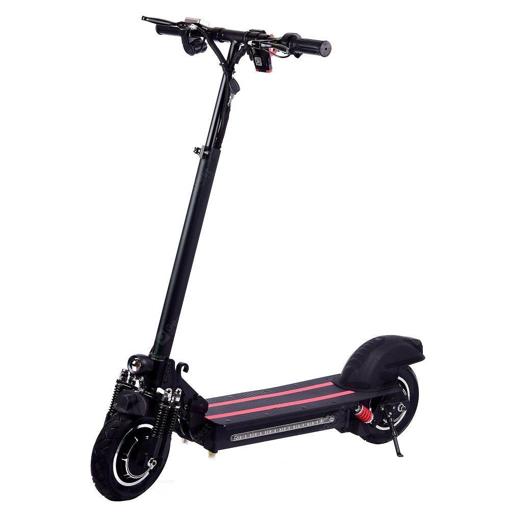 10 Inch Single Drive Electric Scooter Speed 3540km H 600W