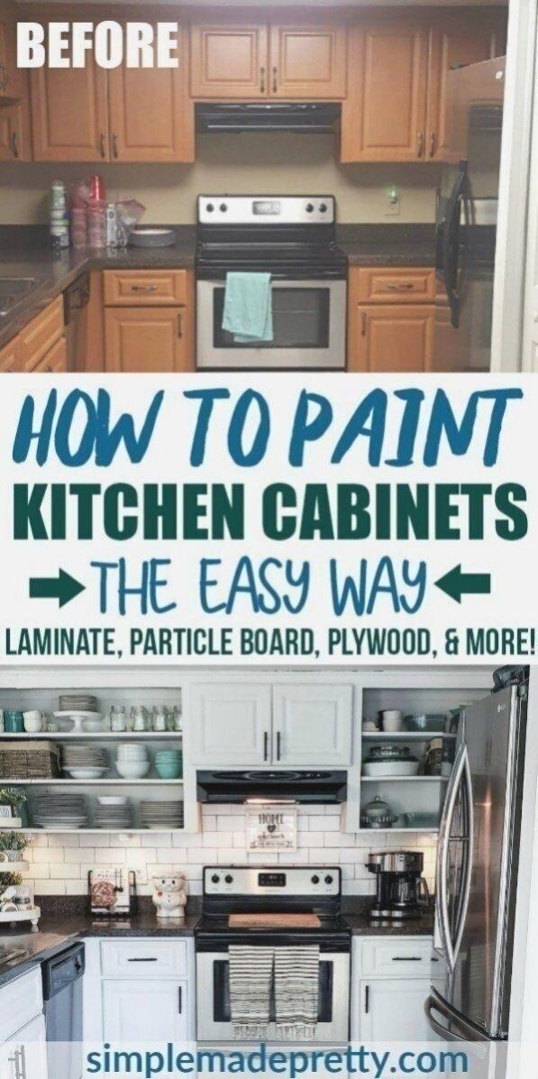 Wie Man Kuchenschranke Weiss Malt Ohne Zu Schleifen W Viel Um K In 2020 Painting Kitchen Cabinets White Painting Kitchen Cabinets Kitchen Cabinets Before And After
