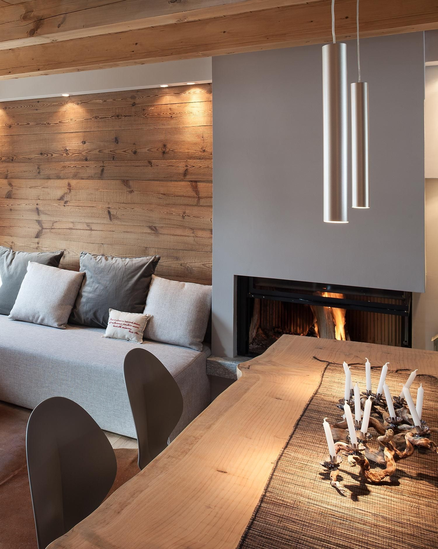 Photo of Chalet di Design Aosta Stile Rustico Montagna   WESTWING MAGAZINE #haus innenarc…