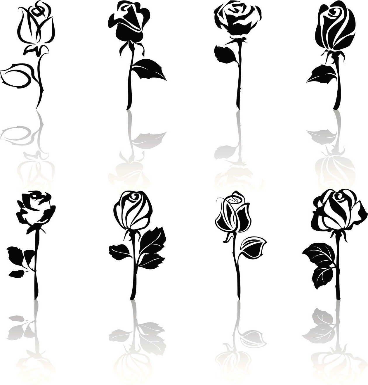 icono blanco negro tulipan - Buscar con Google | dibujos piolas ...