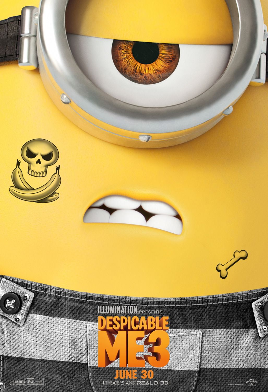 Despicable Me 3 Movie Poster 6 Despicable Me 3 Despicable Me Minions