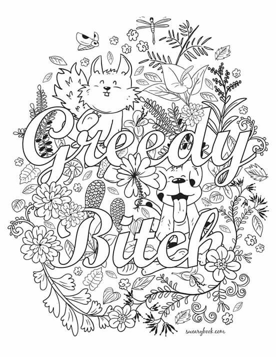 Pin by Holly Lynn on coloring-sayings | Coloring books ...