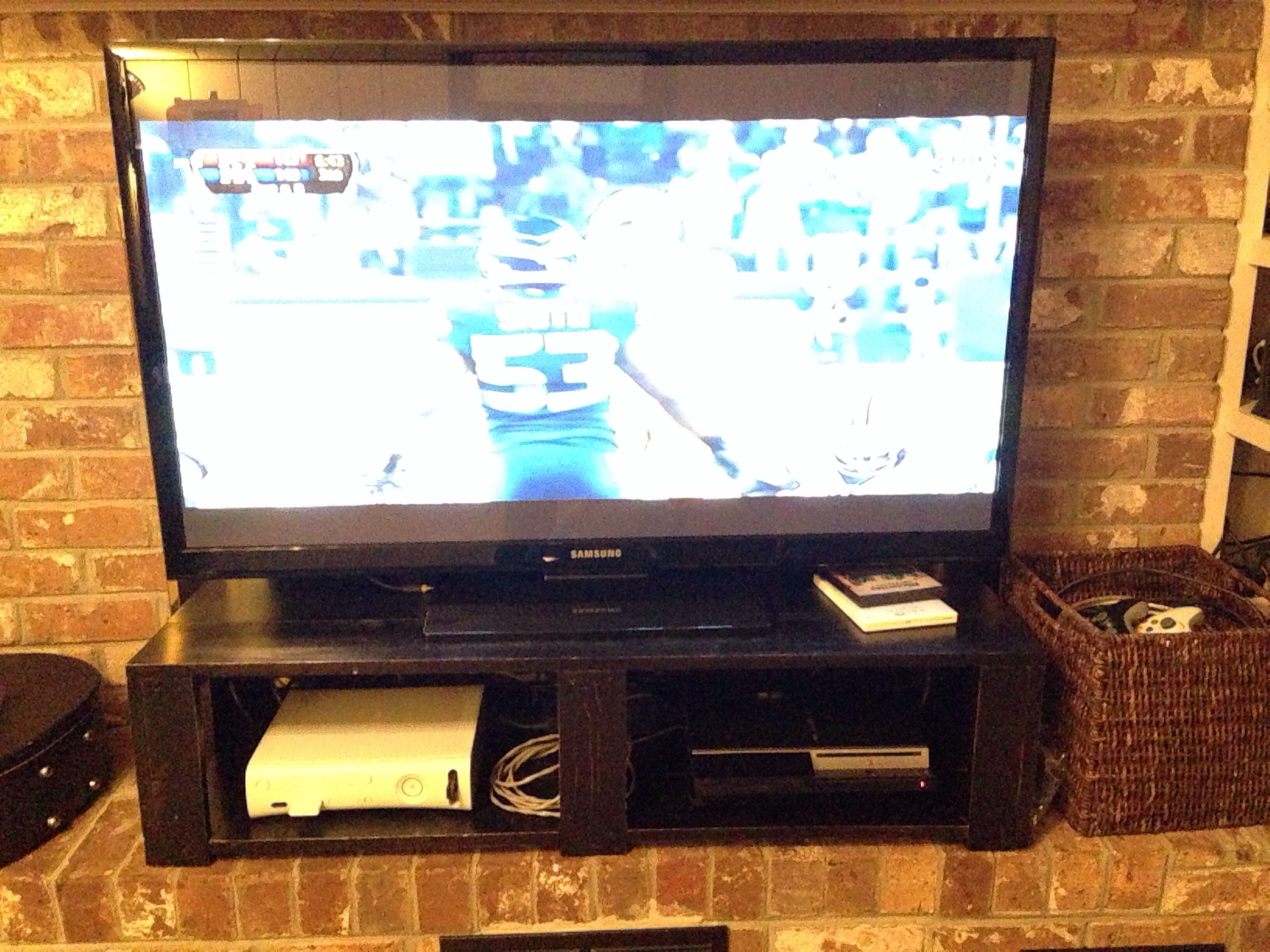 tv stand in front of fireplace - Google Search | Cool Stuff ...