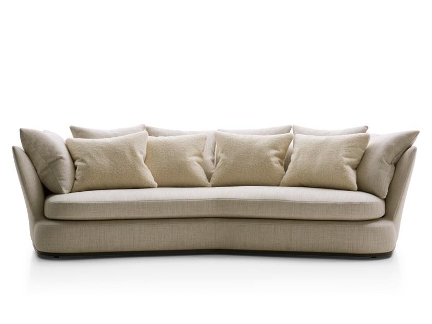 Download The Catalogue And Request Prices Of Apollo Sofa By Maxalto 3 Seater Fabric Sofa Design Antonio Citterio Apo Types Of Sofas Sofa Fabric Sofa Design