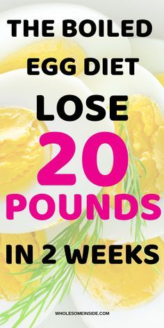 The Boiled Egg Diet: Lose 20 pounds in 2 weeks